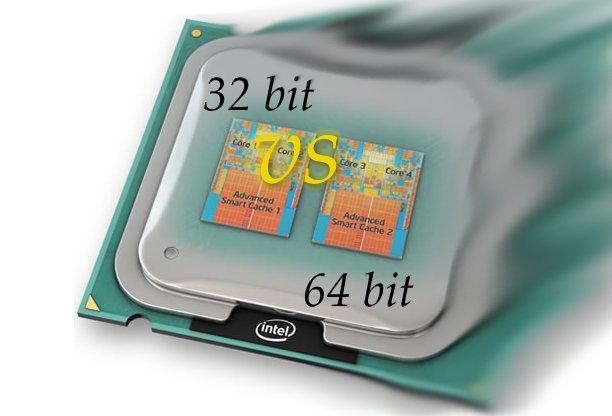 32bit va 64bit